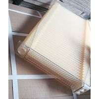 Honey comb foundation sheet for bee hive