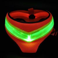 good quality LED flashing dog harness thumbnail image
