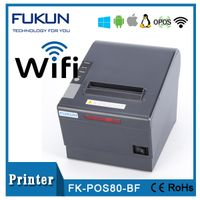 Auto Cutter Wireless Wifi Pos Thermal Printer 80mm Support Free SDK thumbnail image