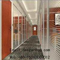 Framed Aluminium Glass Partition