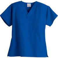 ladies' V neck scrubs top / fashion scrubs sets/medical scrubs brushed poplin tops