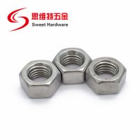 DIN934 stainless steel hex nut carbon steel zinc plated hex nut M6M8M12 thumbnail image