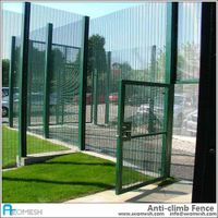 Jail& Prison Hot Fence Design, prison security fence no dig fence prison f, no climb fence panels no