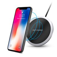 2018 QI Faster Quick Portable Wireless Phone Charger