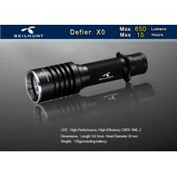 Defier X0 650 lumens tactical led flashlight