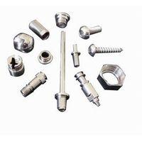 CNC machining parts, custom made steel shaft