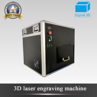 Professional Factory Crystal Glass 3D Laser Inside Photo Engraving Machine