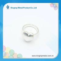 Fancy heart type fashion  ring