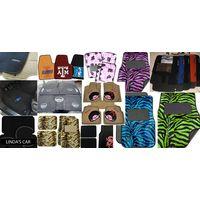 Universal/Premium Fashion licensed Velour Needle punch Car floor mat front:4468cm, rear:4434cm thumbnail image