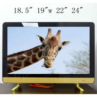 "20"" 22"" 24"" solar tv for Kenya low electricity consumption lcd led tv"