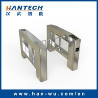 Access Control Turnstile Barrier with Barcode Reader