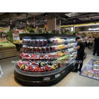 Supermarket Front Open Round Island Refrigerator Hot Sale