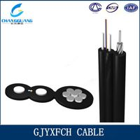 GJYXFCH outdoor self supporting messenger drop cable
