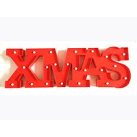 LED letters/signs/marquee XMAS