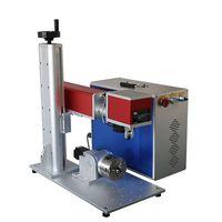 20w fiber laser marking machine on stainless steel parts thumbnail image
