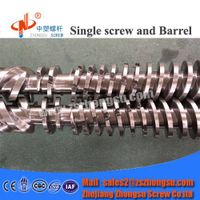 HDPE LDPE Pipe Extrusion Twin Screw and Barrel