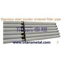 stainless steel poeder sintered filter pipe