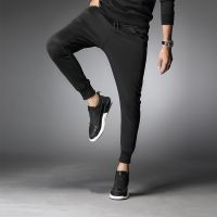Customize High Quality Trowsers Pants For Men's with customize logo 100% Cotton casual wear trowsers