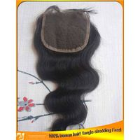 Virgin Indian Brazilian Body Wave Human Hair Lace Top Closures Wholesale, Factory Price