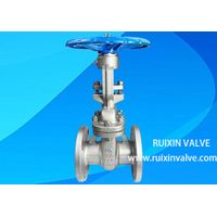 Stainless Steel OS&Y Flanged End Gate Valve Bolted Bonnet Flexible Wedge