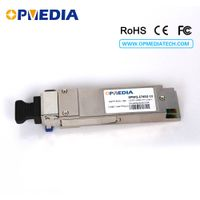 40G QSFP+ LR4 optical transceiver,40G 1270-1331nm 10km QSFP module