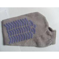 airline sock/disposable sock/amenity kit accessory/non skid sock/inflight disposable sock