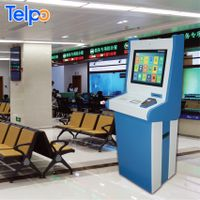 Telpo TPS618 Cashless Bills Payment Terminal Electronic Ticket kiosk Machine for government