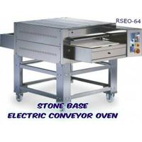 STONE BASE Pizza Conveyor Oven -Electric