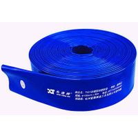 50mm two inches pvc layflat hose for irrigation water discharge