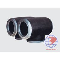 carbon steel pipe tee thumbnail image