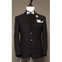 New fashion black men suit for wedding or business
