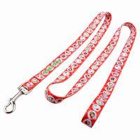 Long dog leash: Promotion holiday dog leash with Christmas logo thumbnail image