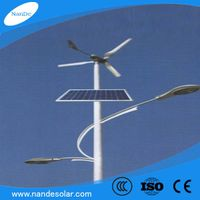 Manufacturer high quality solar&wind street LED light