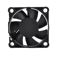 DC 12V Axial flow fan small powerful industrial exhaust fan quiet high speed heat dissipation thumbnail image