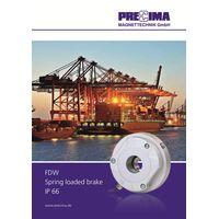 PRECIMA FDW Dust & Waterproof Safety Brakes
