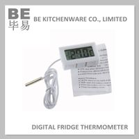 Flexible lcd display digital fridge thermometer