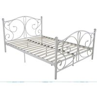 modern wrought iron bed DB-7006