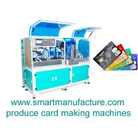SMCPM-A3F Full Automatic ID Card Cutting Machine