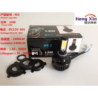 All in one constractional design led headlamp