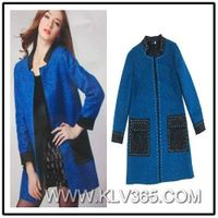 Latest Fashion Design Women Winter Wool jacket Wholesale