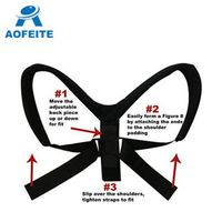 Adjustable posture corrector clavicle support brace high quality thumbnail image
