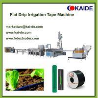 Flat drip irrigation pipe machine 16mmx0.15mm thumbnail image