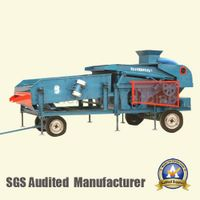 DZL-25 Trailer-mounted grain cleaning and sieving machine