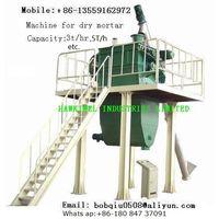 dry mortar mixing equipmenr plant