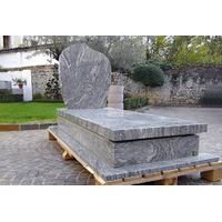 Italian new design headstone granite monument