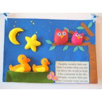 direct source factory felt baby mobile quiet book busy book quiet book soft book