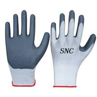 working nylon glove coated nitrile