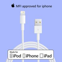 Original White APPLE MFI Certified Lightning Cable-Apple MFI Certified Manufacturer