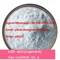 Pure 99% SARMS Raw Powder LGD-4033 LGD4033 Ligandrol powder cas 1165910-22-4 for sale Wickr:yilia23