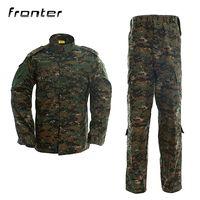 Fronter Military Uniform Camouflage Uniform Military Clothing ACU